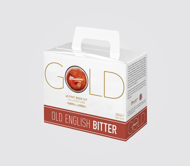 Bitter Gold Beer Box