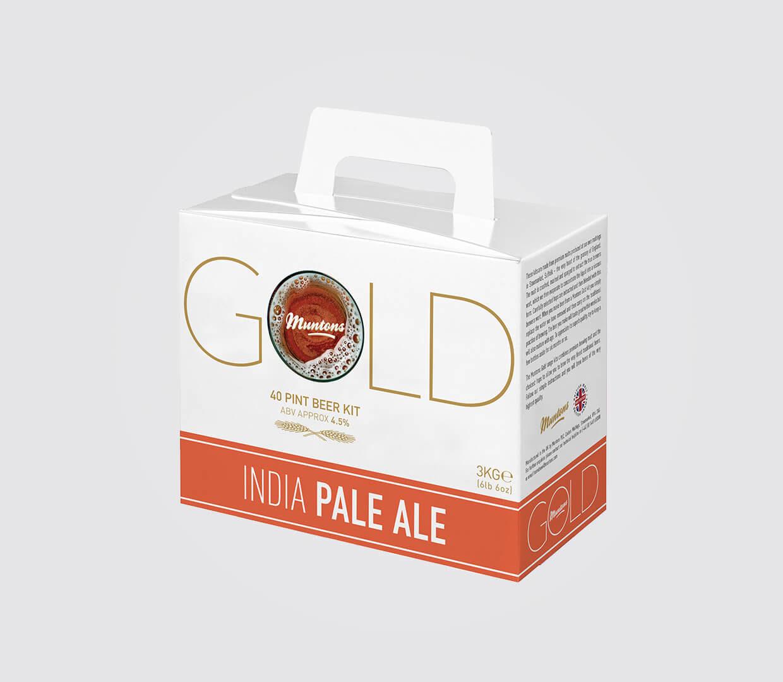 IPA Gold Beer Box