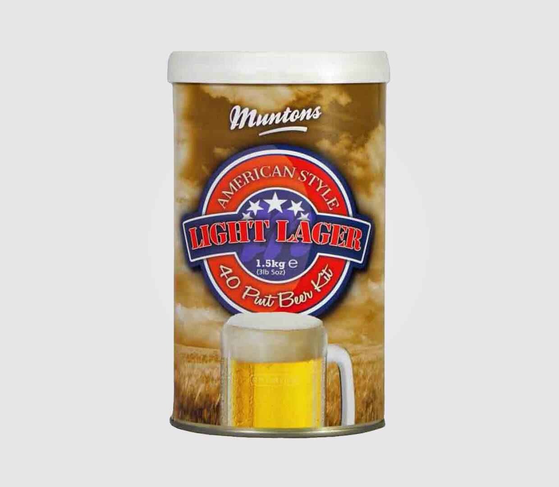 Muntons Premium Range American Light Lager