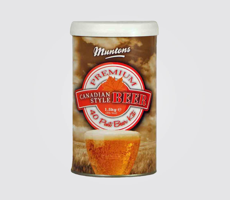 Muntons Premium Range Canadian Beer