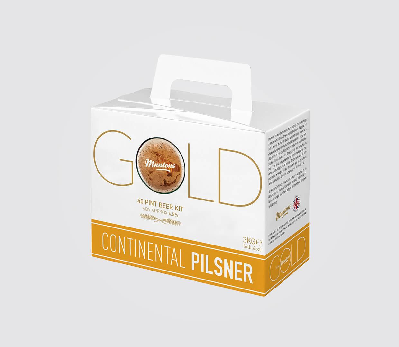 Pilsner Gold Beer Box