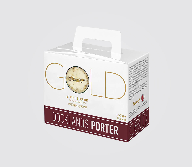 Porter Gold Beer Box
