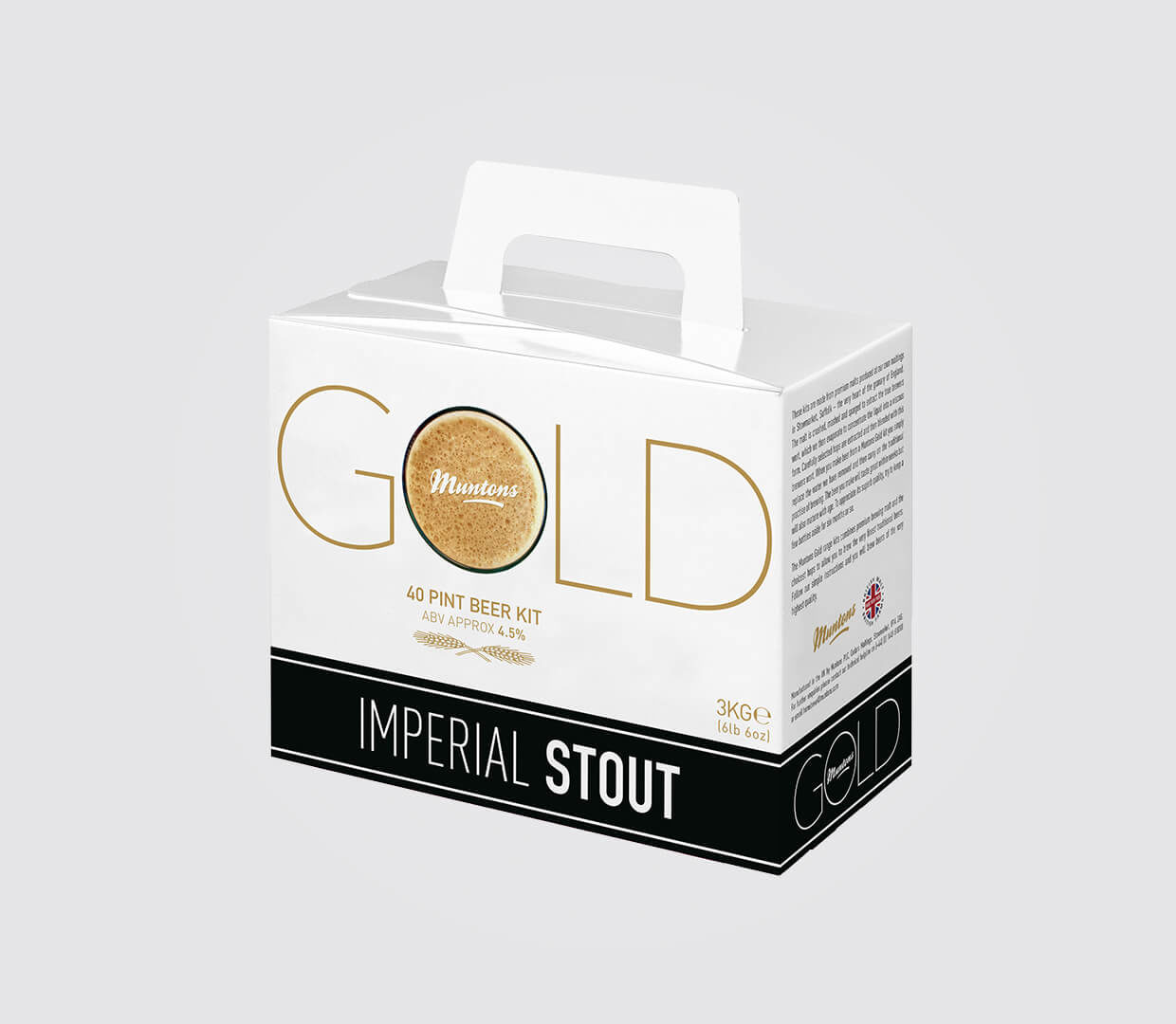 Stout Gold Beer Box